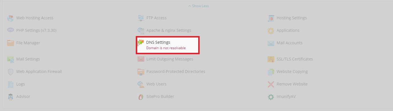 Plesk DNS Editor